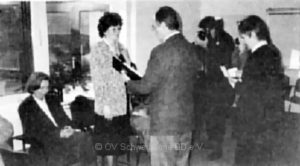 Renate Witte erhält das Bundesverdienstkreuz