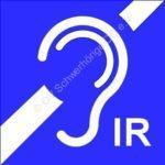 Zeichen für infrarot Höranlage